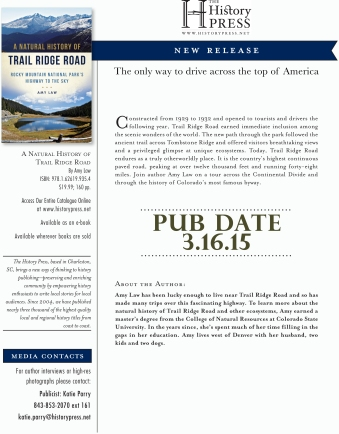 Trail Ridge Road Pub Announcement