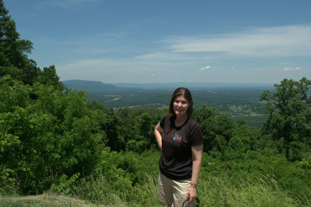 Amy on Skyline Drive -1