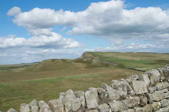 East to Sewingshields